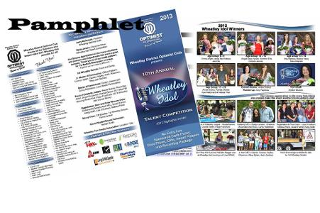 2013 Pamphlet Collage - 2012 Highlights!